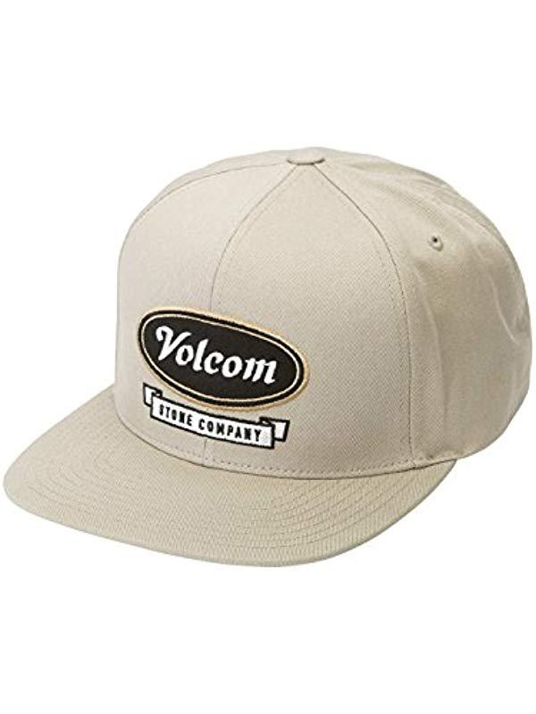 best loved 88656 044a4 Volcom - Natural Cresticle Hat for Men - Lyst. View fullscreen