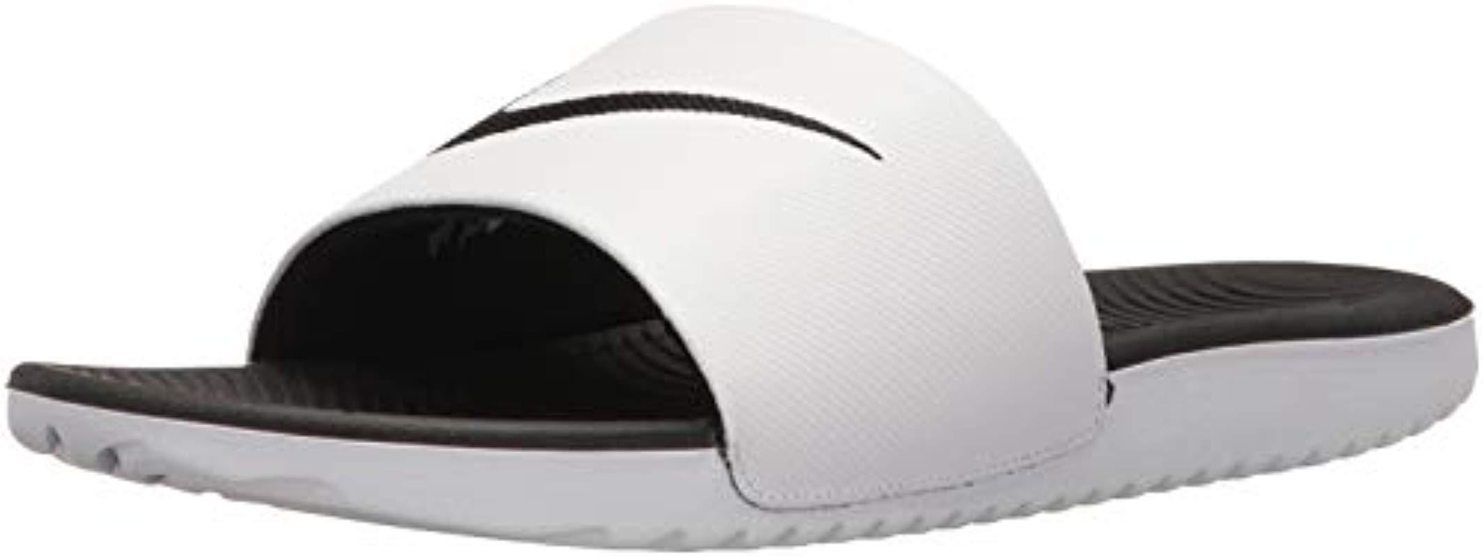 78621f9058e9 Nike Kawa Slide Low-top Sneakers in White for Men - Lyst