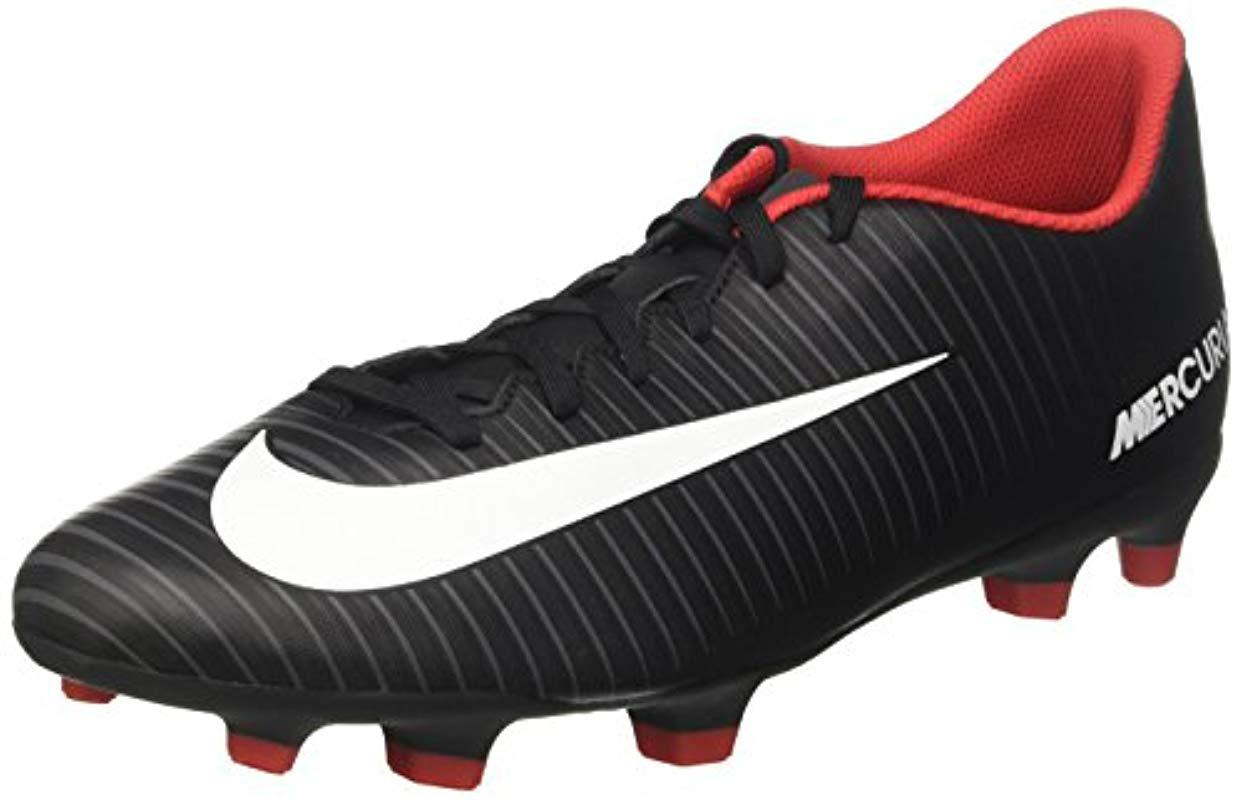 6c728cfd1 Nike Mercurial Vortex Iii Fg Footbal Shoes in Black for Men - Lyst