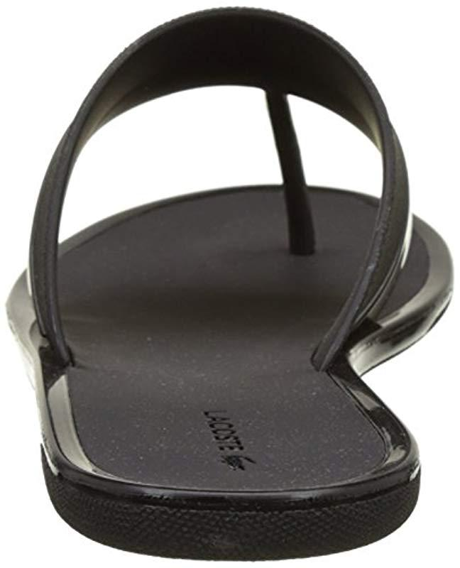 Black 1 Lacoste Caw 117 Flops Ace Flip In Lyst Promenade gaqO8