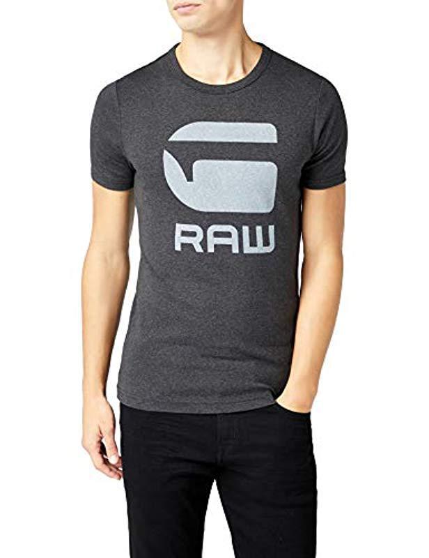9bb2a50db25 G-Star RAW Drillon R T S/s T-shirt in Black for Men - Lyst