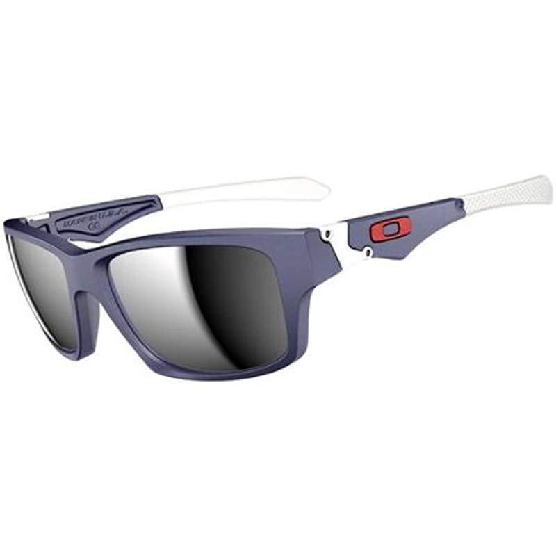 cf74a27668 ... france oakley. mens blue oo9135 jupiter polarized square sunglasses  86116 464fb