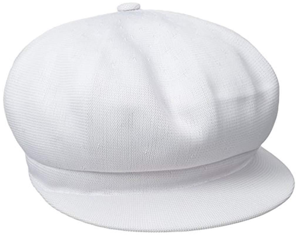 7d741d476e0 Lyst - Kangol Tropic Spitfire Hat in White for Men - Save ...