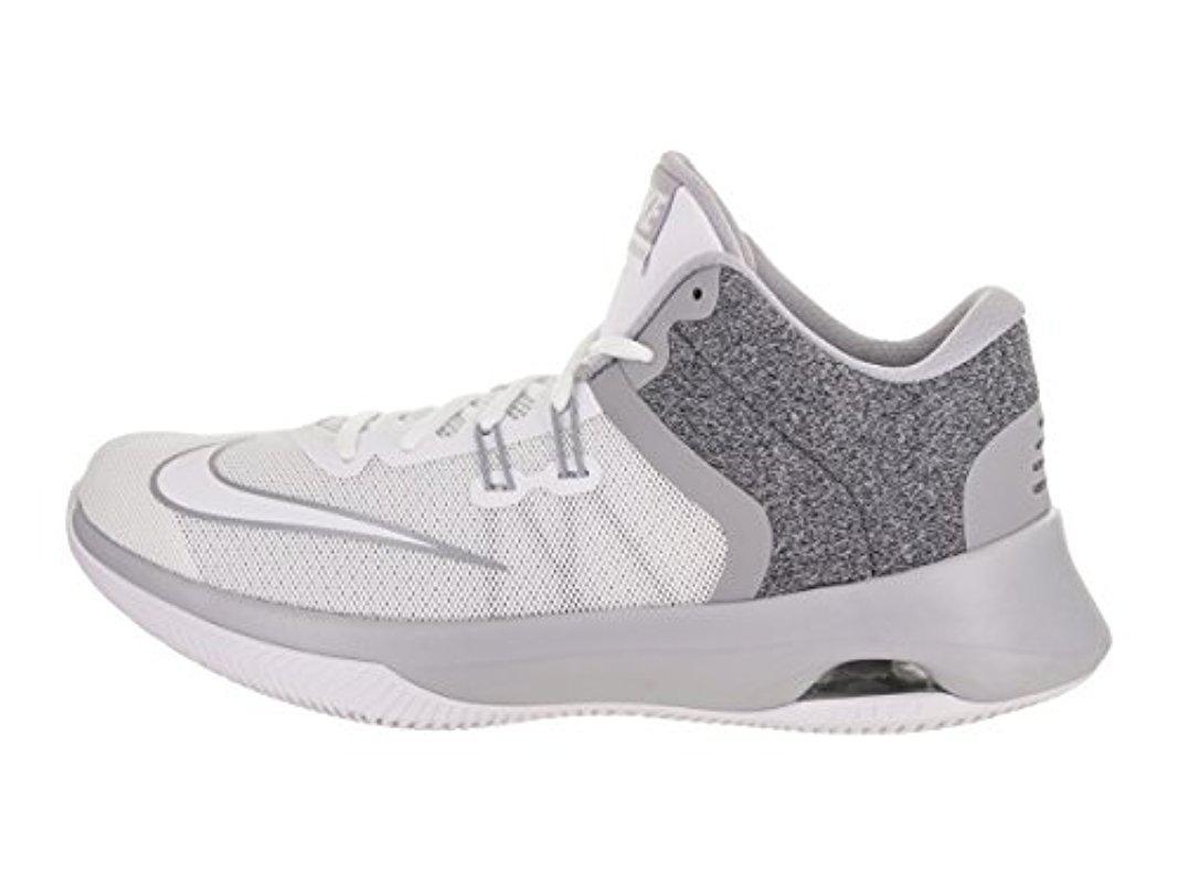 wholesale dealer e58ab bac61 Lyst - Nike Air Versitile Ii Basketball Shoe in Gray for Men