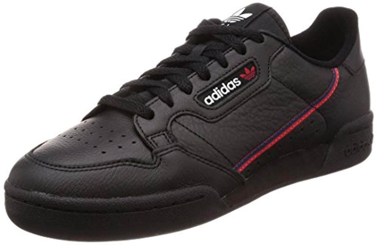 b6faa6826c2427 Adidas Continental 80 Fitness Shoes in Black for Men - Lyst