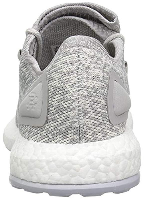 6a7d2852a9f Adidas - Gray Pureboost Reigning Champ M Running Shoe for Men - Lyst. View  fullscreen
