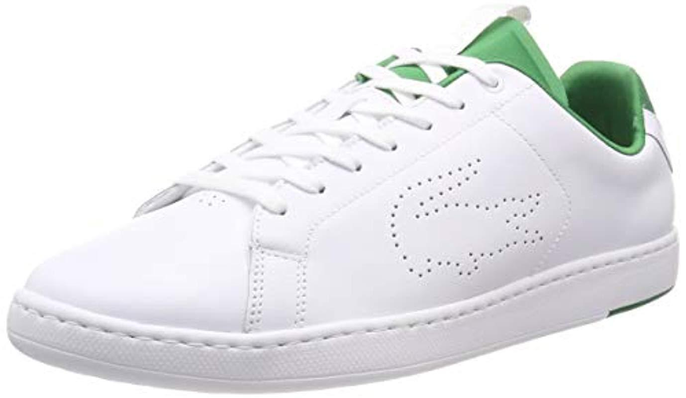 3590a9636 Lacoste Carnaby Evo Light-wt 1191sma Trainers in White for Men - Lyst