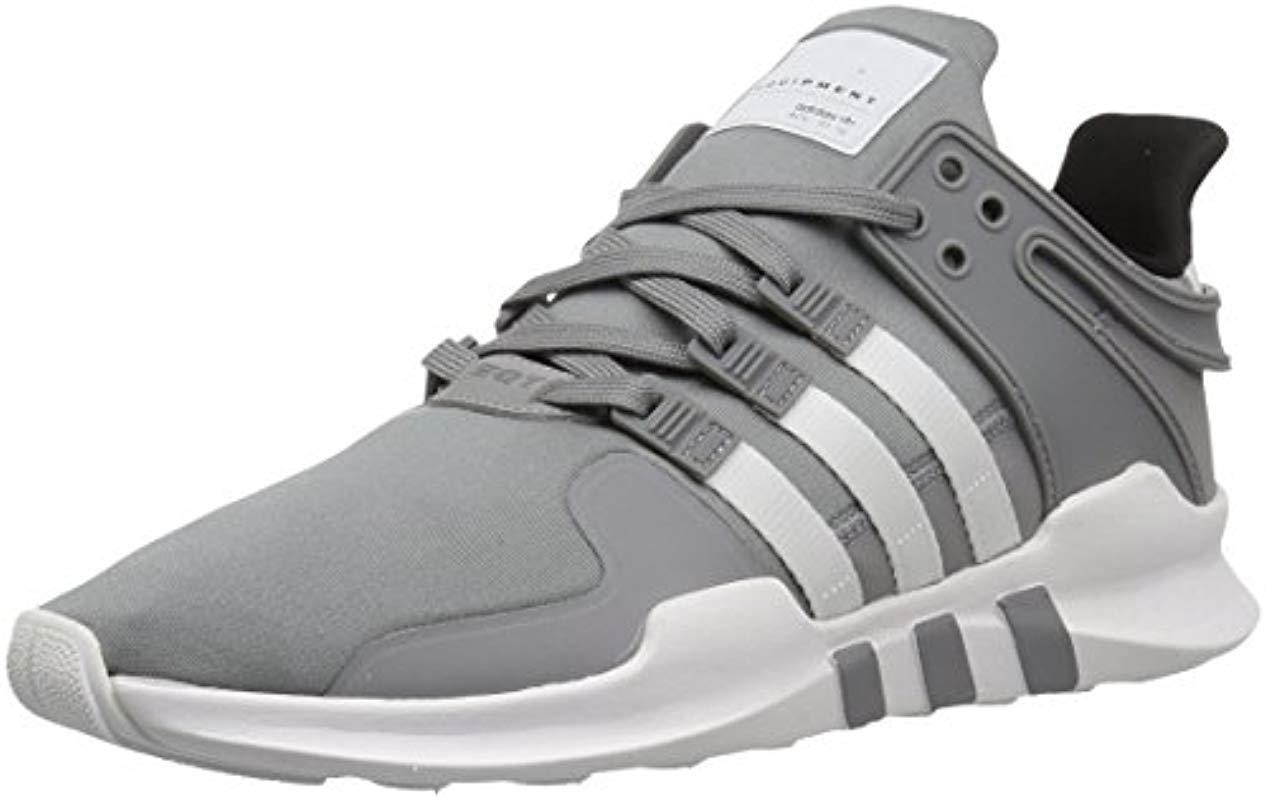 af946e8c30297 Men's Gray Adidas Eqt Support Adv Fashion Sneaker