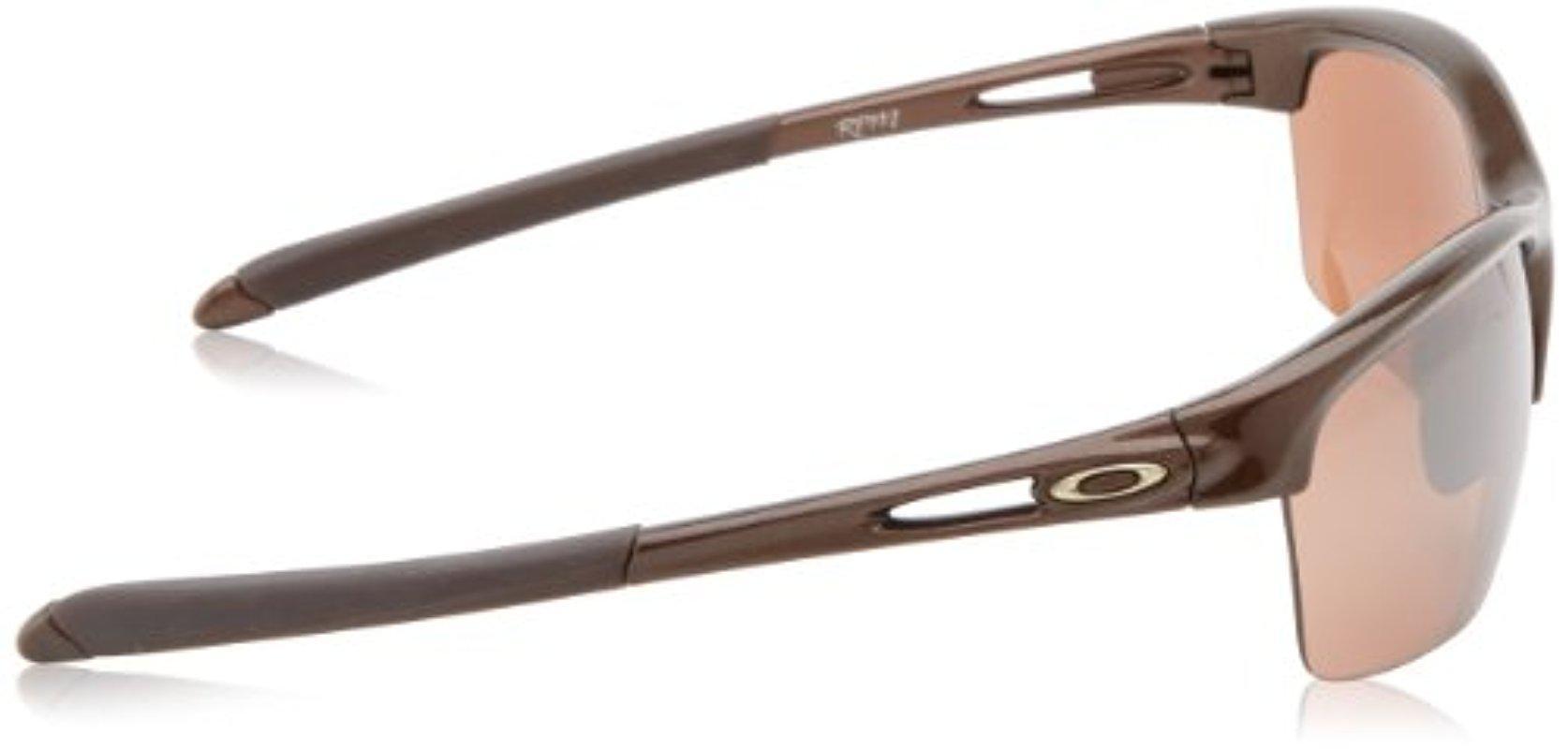 f79110a0d9eba Lyst - Oakley Rpm Sq Non-polarized Iridium Rectangular Sunglasses in ...