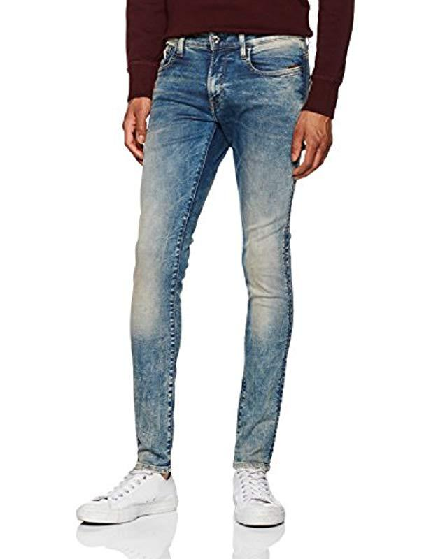 37798fcdc597f0 G-Star RAW Revend Skinny Jeans in Blue for Men - Save 38% - Lyst