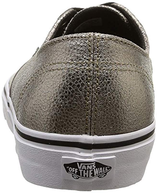 9905dee580 Vans U Authentic Decon Unisex Adults Low-top Sneakers in Metallic for Men -  Save 25% - Lyst