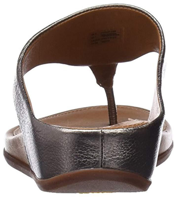 329277b6664785 Fitflop - Brown Banda Platform Sandals - Lyst. View fullscreen