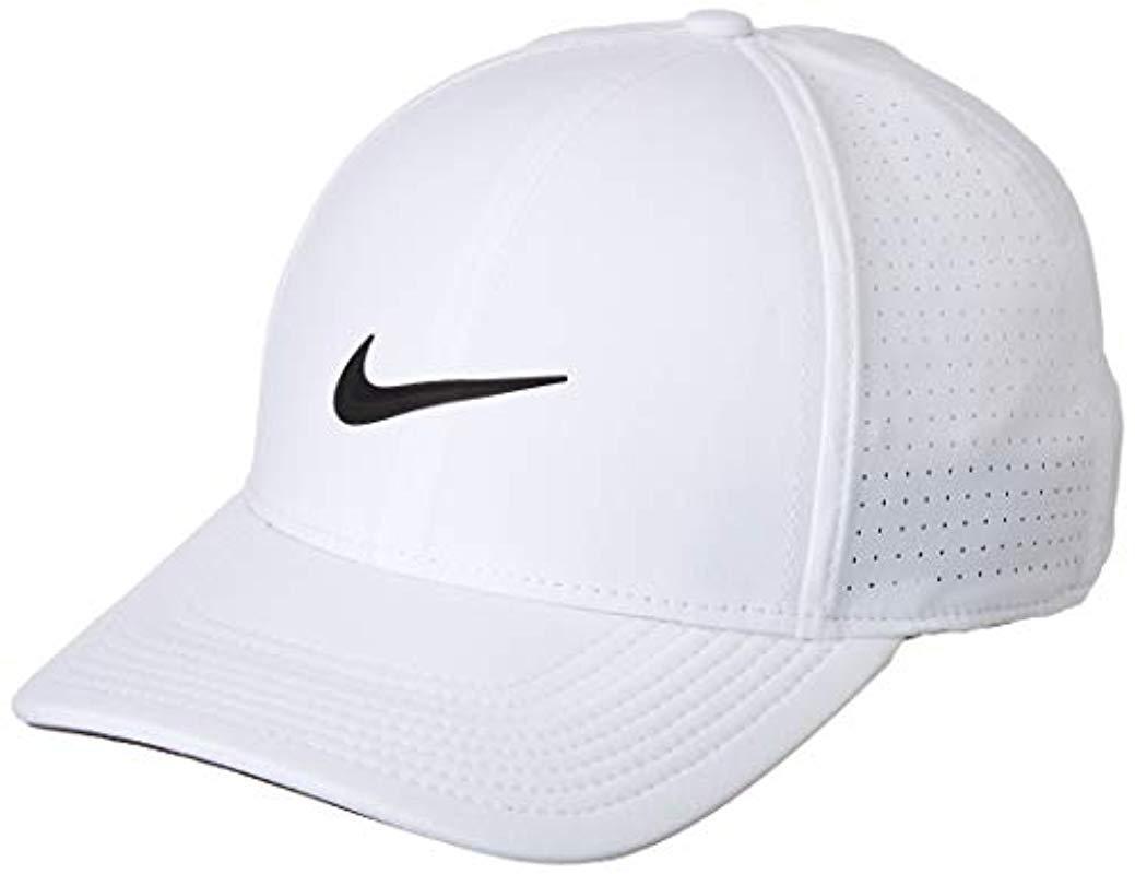 556f7a28ee1 Nike Baseball Cap in White for Men - Lyst