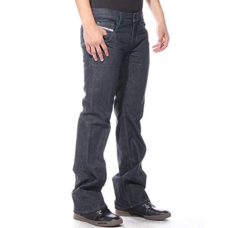 3076b35bd76 DIESEL Zatiny Slim Micro-bootcut Jean 0088z in Blue for Men - Lyst
