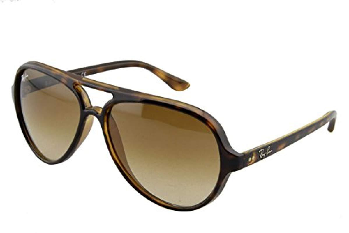 9bdb8d2c65f59 Ray-Ban Sonnenbrille Cats 5000 (rb 4125) in Brown for Men - Save 2 ...