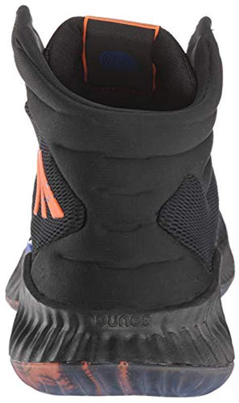 best sneakers 7ed14 fa578 Adidas Originals - Black Pro Bounce 2018 Basketball Shoe for Men - Lyst.  View fullscreen