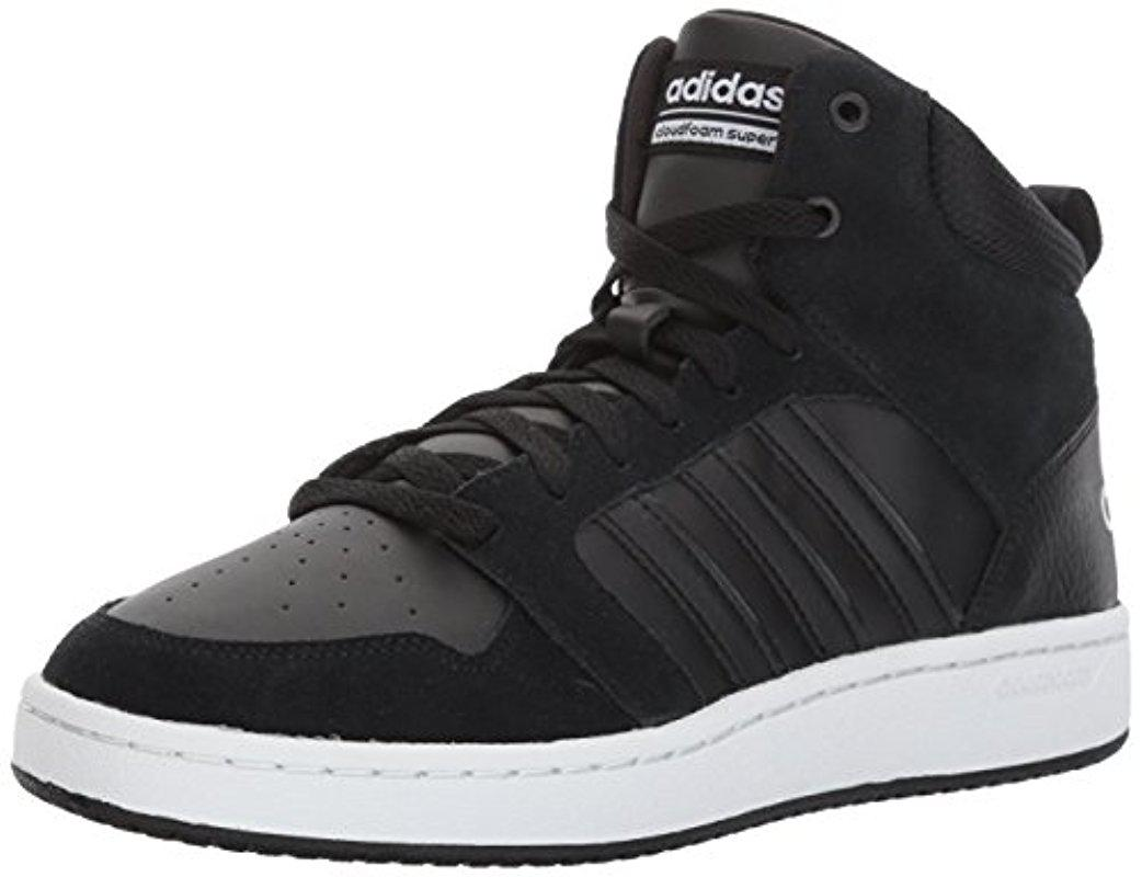 new concept 2bdca 9027f Lyst - Adidas Cf Super Hoops Mid Basketball Shoe in Black fo
