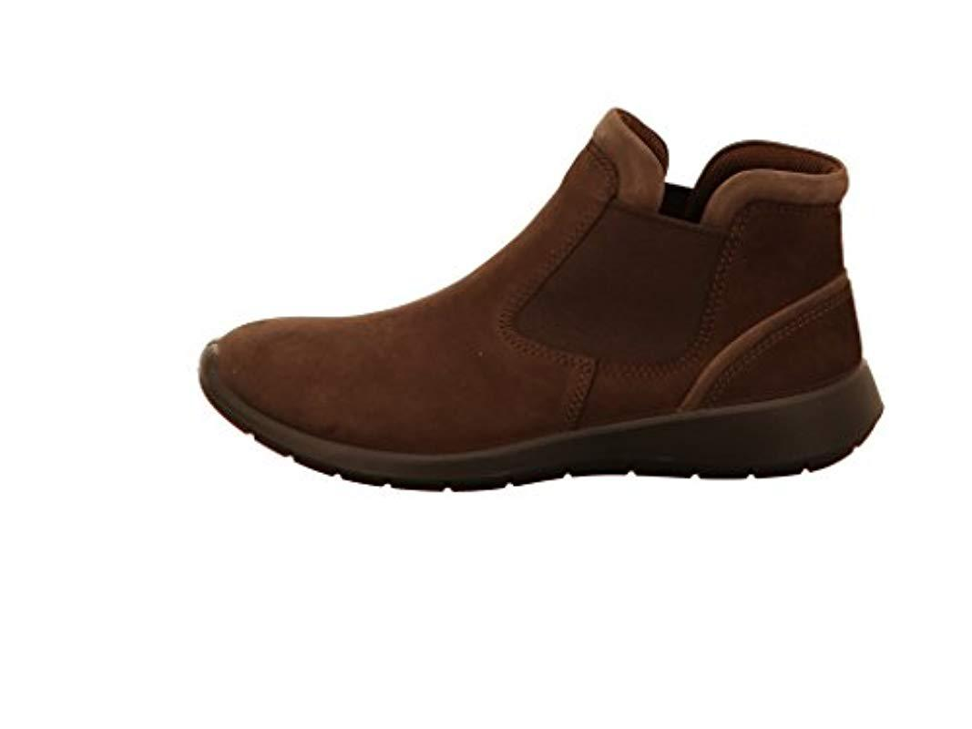 6490ac9eef Ecco Soft 5 Chelsea Boots in Brown - Lyst