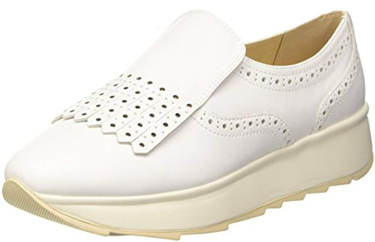 D 4Lyst Loafers White Gendry In B Save Geox 5jRLA4