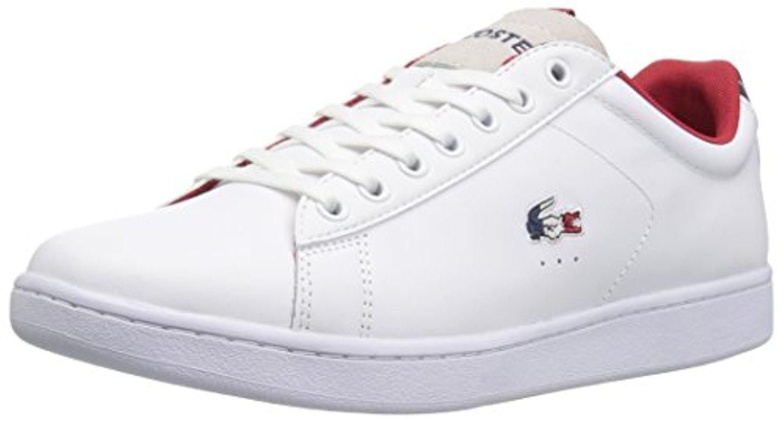 90126b8b3258cb Lyst - Lacoste Carnaby Evo Fashion Sneaker in White for Men