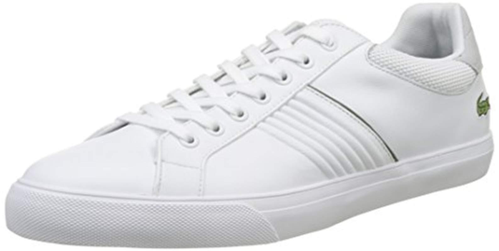 03b747be30b867 Lacoste Fairlead 117 1 Casual Shoe Fashion Sneaker in White for Men ...