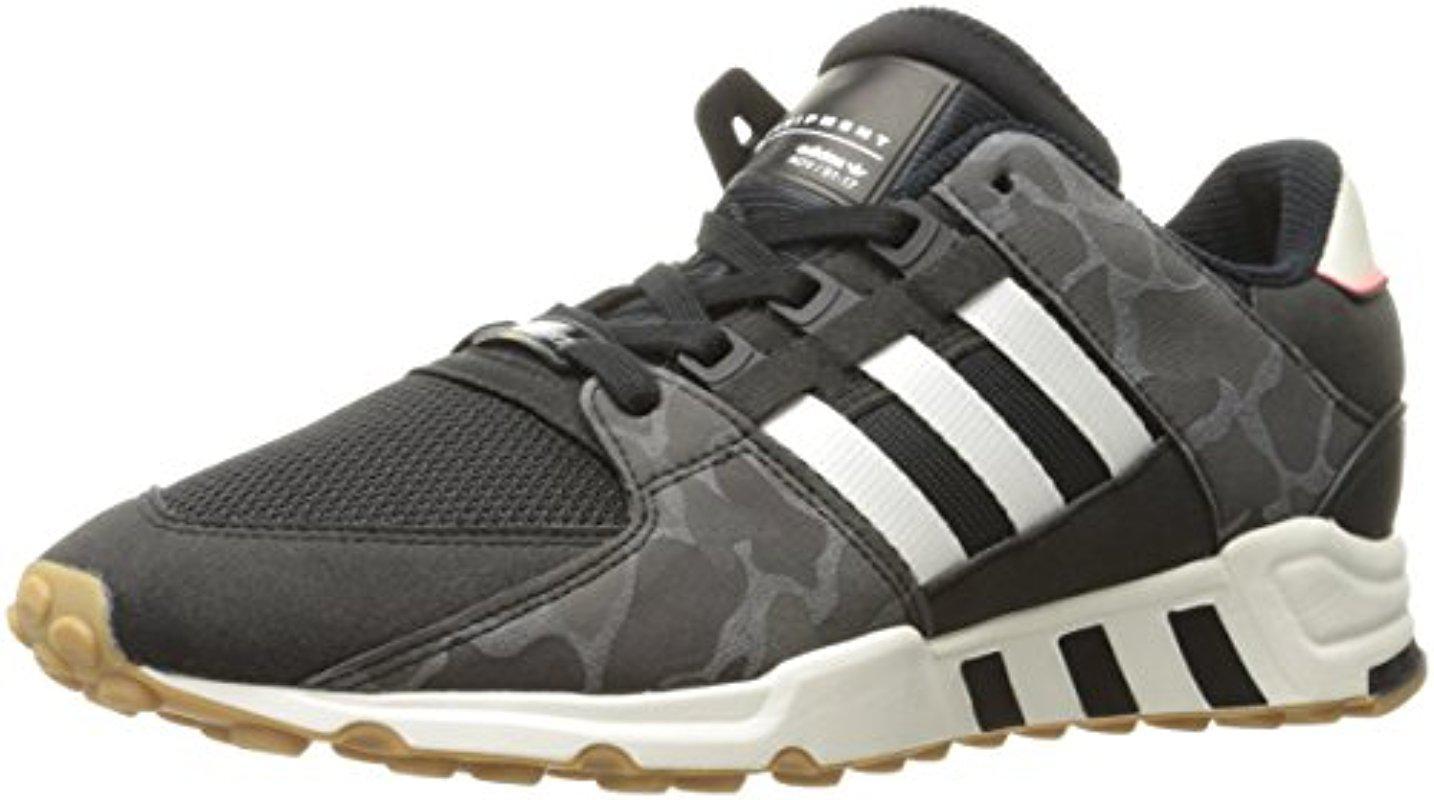 quality design fdf76 b1f1b adidas Originals. Mens Black Eqt Support Rf Fashion Sneakers