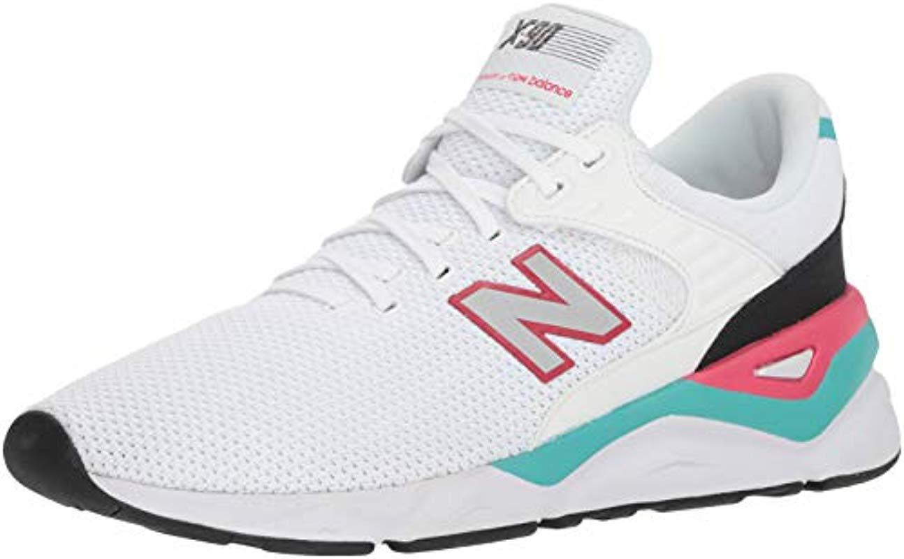 73bc9bcb84851 New Balance X-90 Trainers in White for Men - Lyst