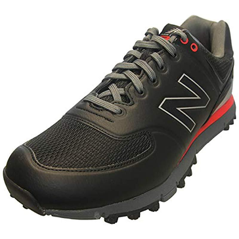 reputable site a35db 61c0a New Balance Nbg518 Golf Shoe in Black for Men - Save 16% - Lyst