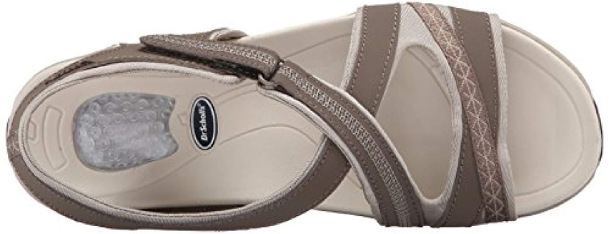 5379f29b84fa Lyst - Dr. Scholls Dr. Scholl s Panama Flat Sandal