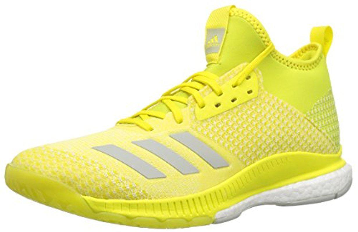 adidas Performance CRAZYFLIGHT X 2.0 - Volleyball shoes - yellow tawIlbU