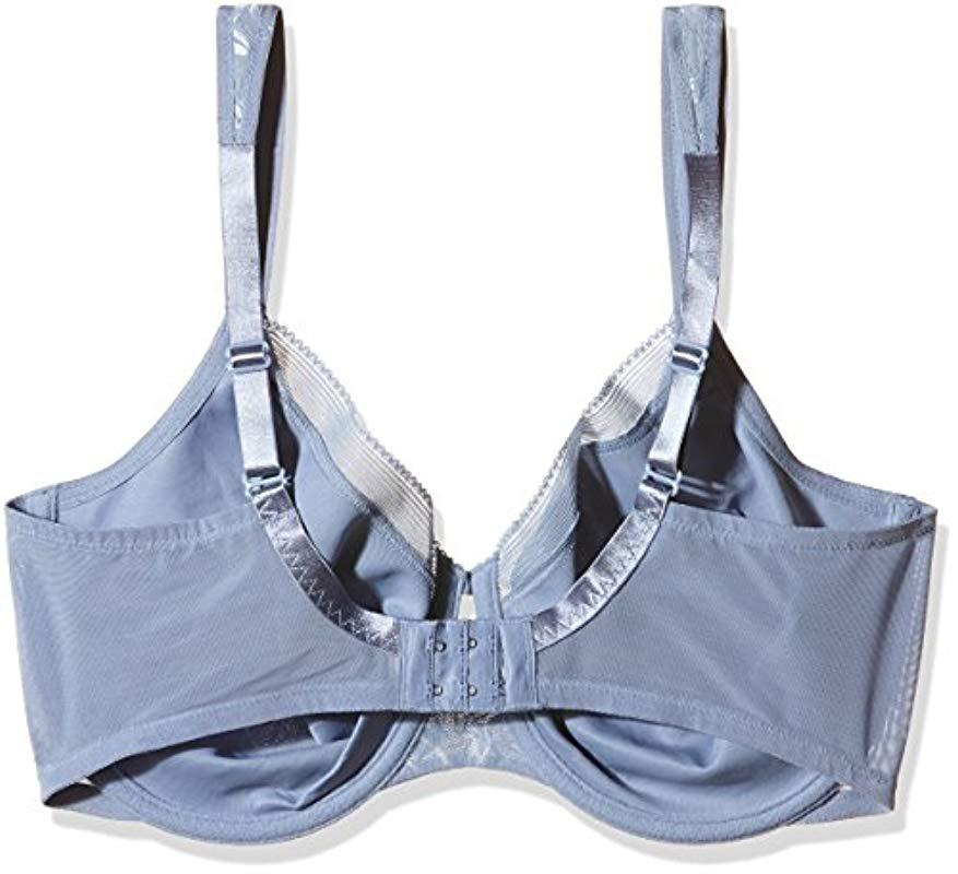 f078188717 Triumph - Blue Sculpting Sensation Shapewear W01 Minimiser Bra - Lyst. View  fullscreen