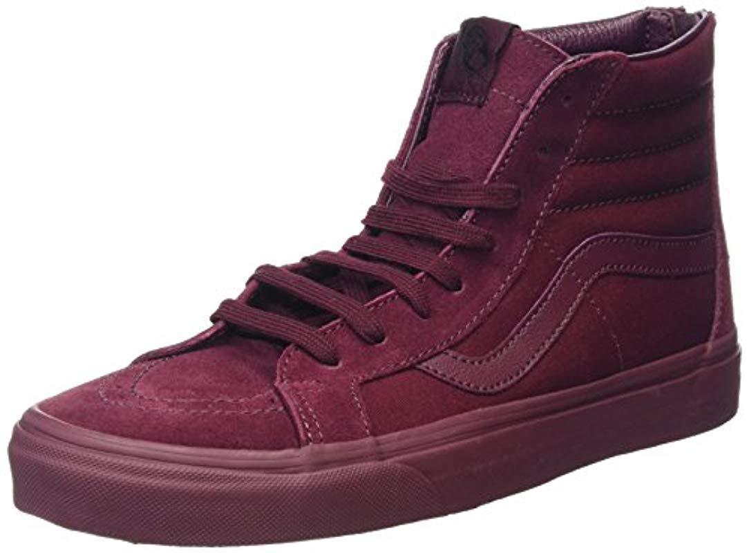 14aa2a48ffe Vans Sk8 Slim Zip Hi-top Sneakers in Purple - Lyst