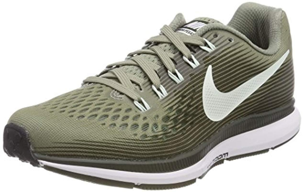 bd22cd1b Nike. Women's Green 's Wmns Air Zoom Pegasus 34 Competition Running Shoes