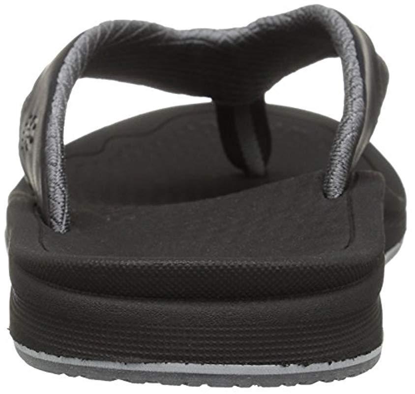 1be0458871e5f New Balance - Black Recharge Thong Sandal for Men - Lyst. View fullscreen