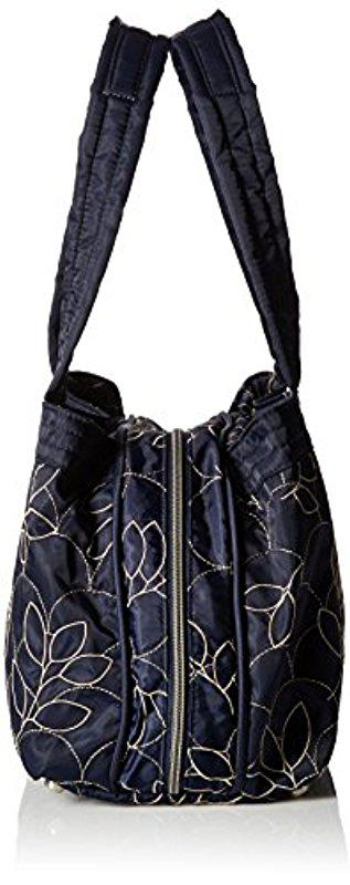eef6cf15582b LeSportsac City Mercer Tote in Blue - Lyst