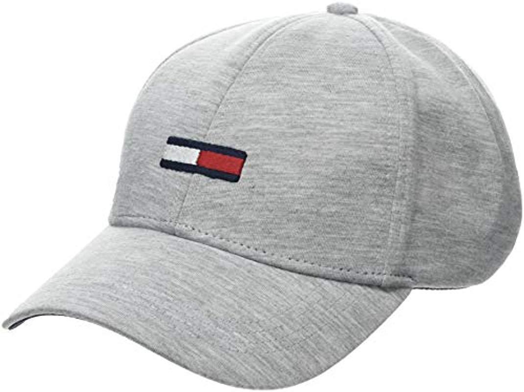 Tommy Hilfiger Tju Flag Baseball Cap in Gray for Men - Lyst d3931024b1