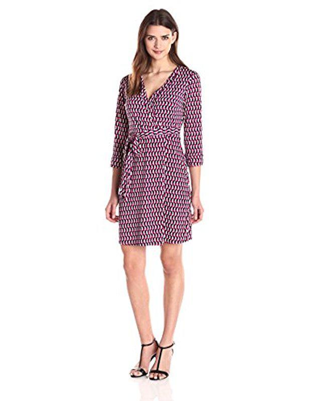 Lyst - Laundry By Shelli Segal Chain Glam\' Matte Jersey Wrap Dress