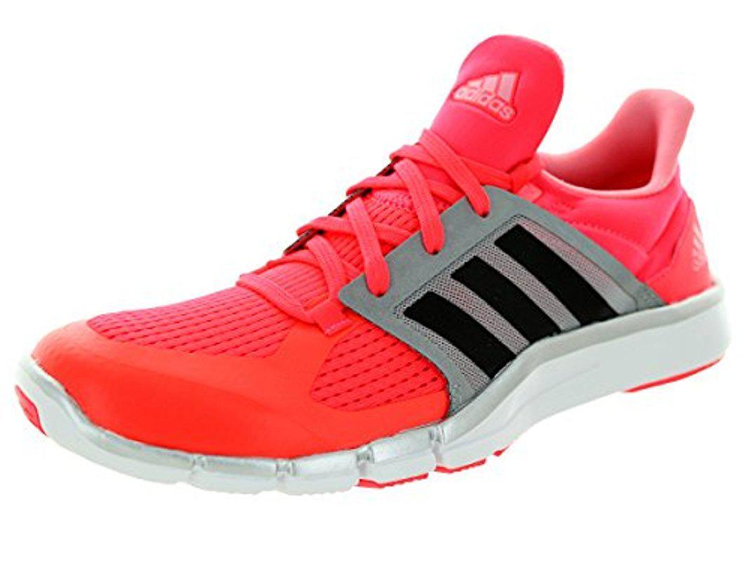lyst adidas performance adipure w - trainingsschuh für männer in rot