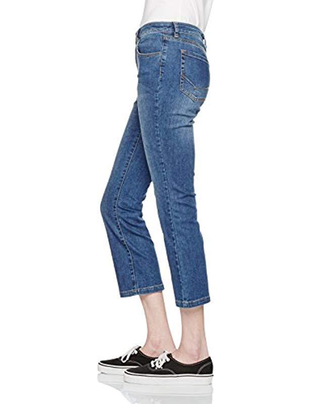 Vans - Blue Crop Flared Jeans - Lyst. View fullscreen 336a51ba741