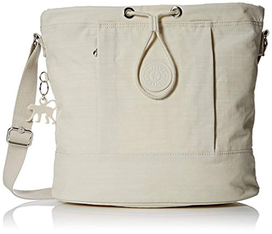 a501234479 Kipling Dalila Shoulder Bag in Natural - Save 10.810810810810807% - Lyst