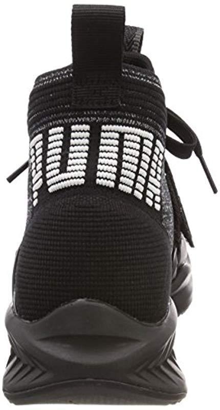 761bbfbfbef169 PUMA - Black Ignite Evoknit 2 Cross Trainers for Men - Lyst. View fullscreen