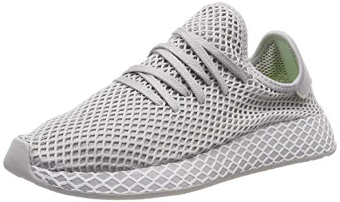 375ceb518 adidas Deerupt Runner Gymnastics Shoes in Gray for Men - Lyst