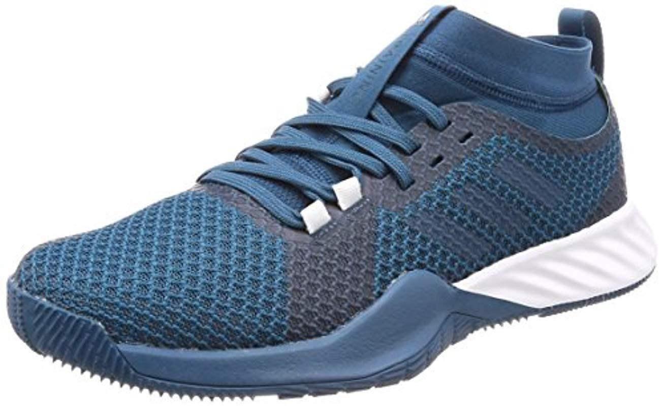 fb0fd2d2b adidas Crazytrain Pro 3.0 Fitness Shoes in Blue for Men - Lyst