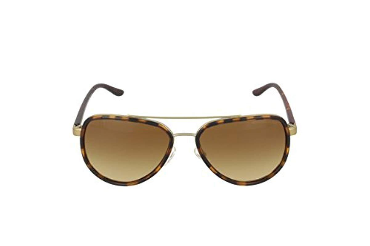 60565bc02905f Michael Kors - Brown Sunglasses - Lyst. View fullscreen