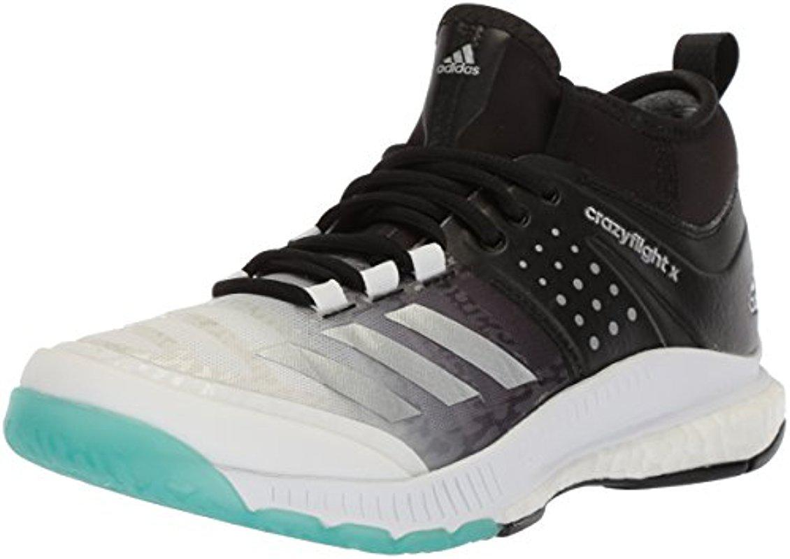 online store e85a6 0a4d2 Lyst - adidas Shoes  Crazyflight X Mid Volleyball Shoe - Whi