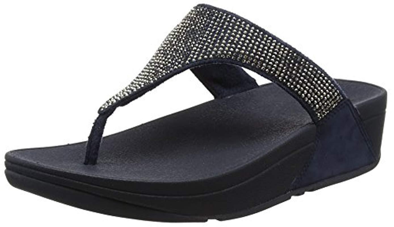 805f122b3a4 Fitflop Slinky Rokkit Toe-post T-bar Sandals in Blue - Lyst