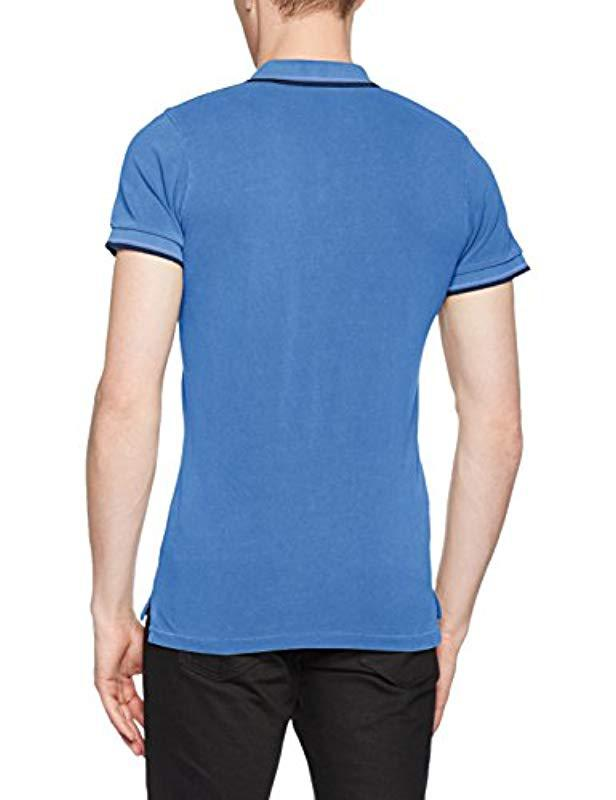 44578afb Pepe Jeans Gulf Polo Shirt in Blue for Men - Lyst