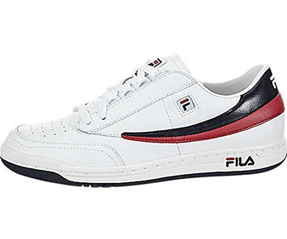 37d60dd436dd1f Lyst Fila Original Tennis Classic Sneaker in Weiß for for for Men a03807