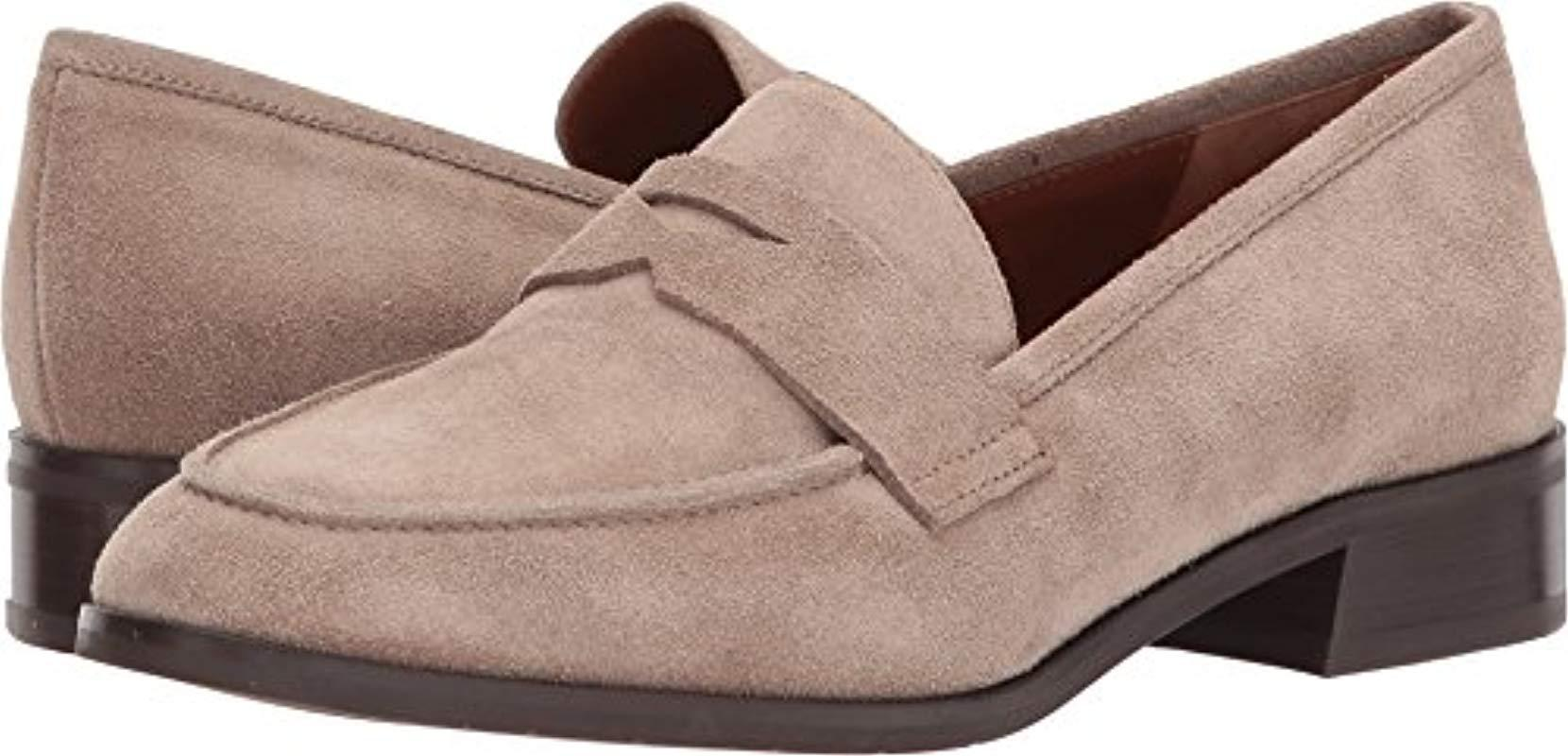 4d8804a09c5 Lyst - Aquatalia Aquatalia Sharon Pebbled Suede Slip-on Loafer in Brown
