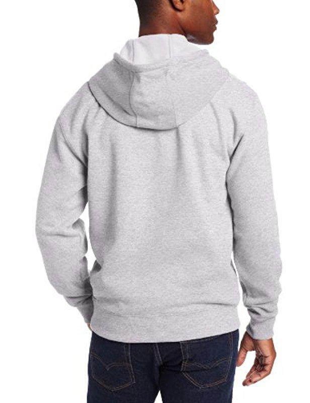 07232f8cce Lyst - Dickies Big-tall Midweight Fleece Pullover Sweatshirt in Gray for Men  - Save 26%